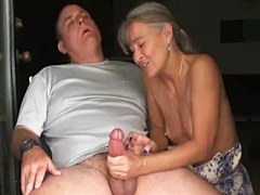 Over 40 Handjobs – Mature couple handjob
